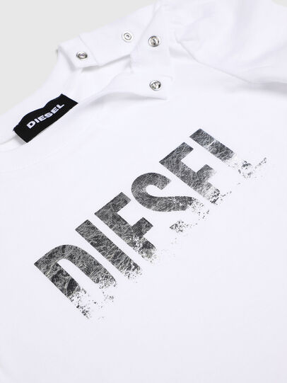 Diesel - TRALLYB, White - T-shirts and Tops - Image 3