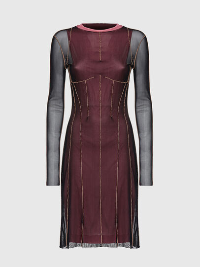 Diesel - D-VINA, Pink/Black - Dresses - Image 1