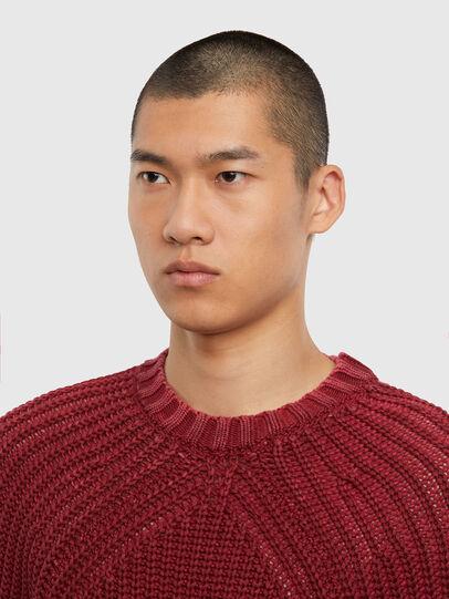 Diesel - K-LIAM, Brown - Knitwear - Image 3