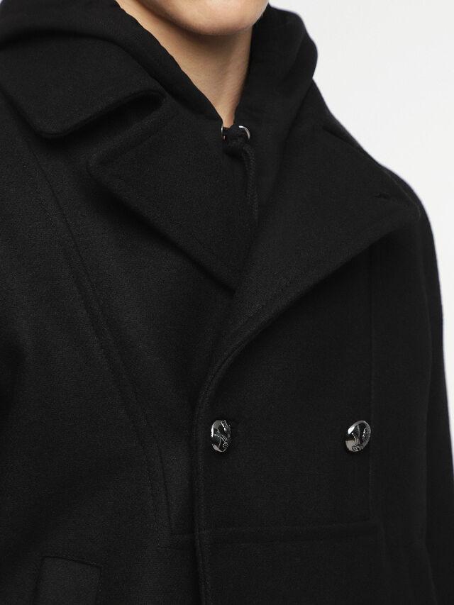 Diesel - W-BANFI, Black - Winter Jackets - Image 6