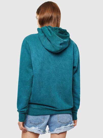 Diesel - S-GIRK-HOOD-SUN, Dark Green - Sweaters - Image 4