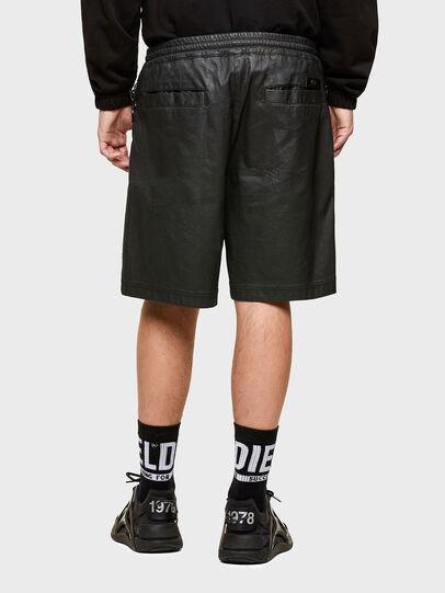 Diesel - D-HORTY-SP JOGGJEANS, Black - Shorts - Image 2