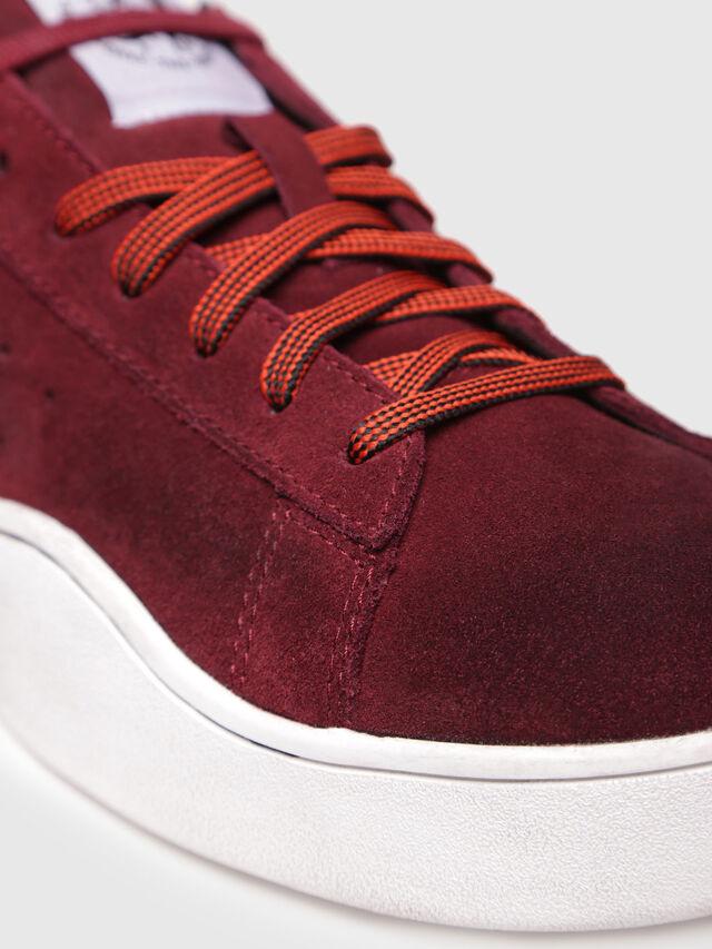 Diesel - S-CLEVER LOW, Red Wine - Sneakers - Image 4