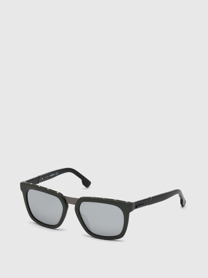 Diesel - DL0212, Military Green - Sunglasses - Image 3
