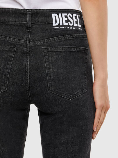 Diesel - D-Joy 009KY, Black/Dark grey - Jeans - Image 6