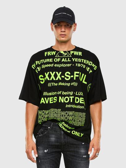 Diesel - T-BALL-X2, Black - T-Shirts - Image 4