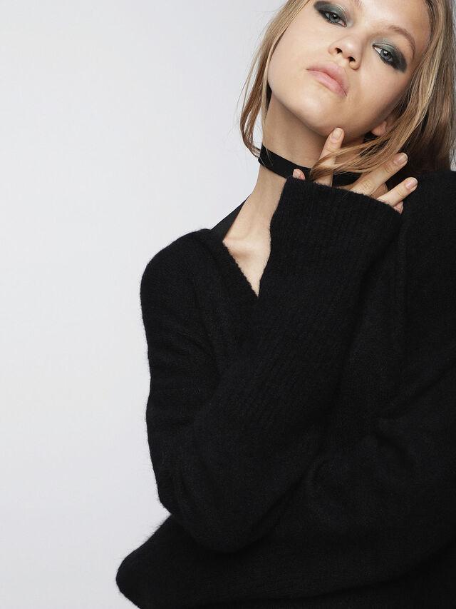 Diesel - M-SOFTY, Black - Dresses - Image 4