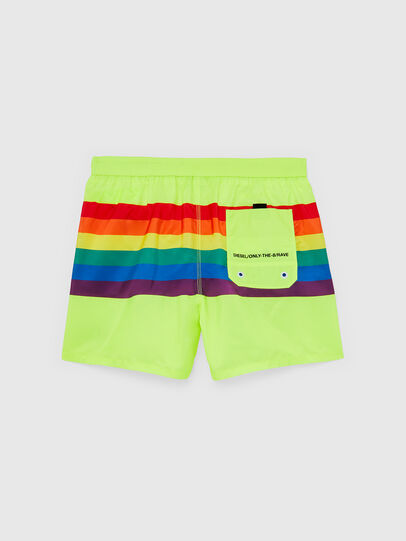 Diesel - BMBX-WAVE 2.017-P, Green Fluo - Swim shorts - Image 2