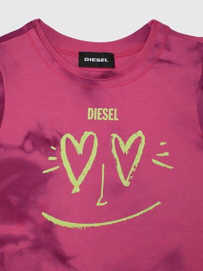 Diesel - TINTDB-R, Pink - T-shirts and Tops - Image 3