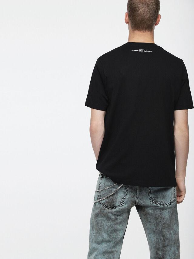 Diesel - T-JUST-XV, Black - T-Shirts - Image 2
