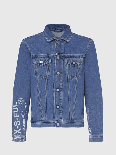 Diesel - NHILL-SP2, Light Blue - Denim Jackets - Image 1