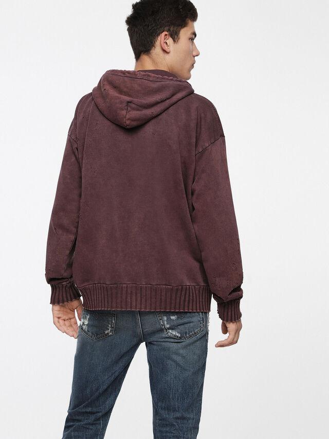Diesel - S-STAPP, Burgundy - Sweaters - Image 2