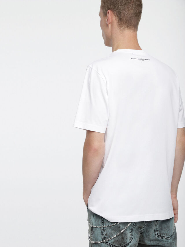 Diesel - T-JUST-XV, White - T-Shirts - Image 2