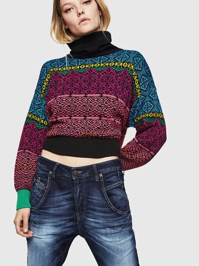 Diesel - Fayza JoggJeans 069IE, Dark Blue - Jeans - Image 3