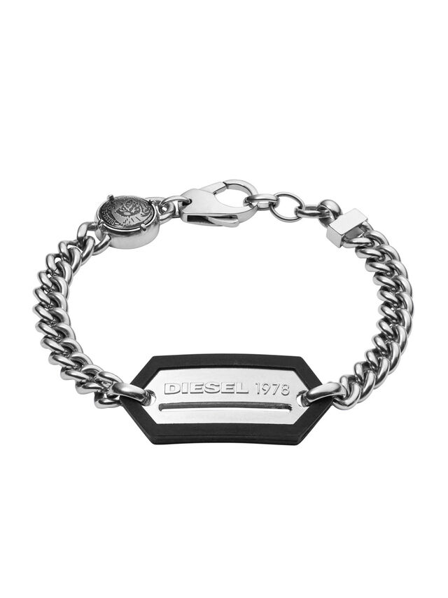 Diesel BRACELET DX0992, Silver - Bracelets - Image 1