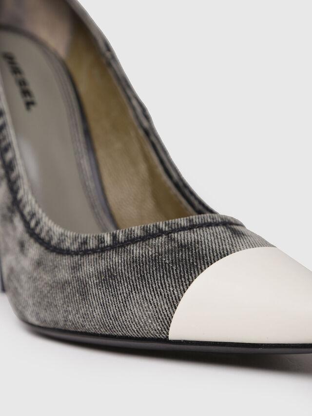 Diesel - D-SLANTY HPD, Grey Jeans - Heels - Image 4