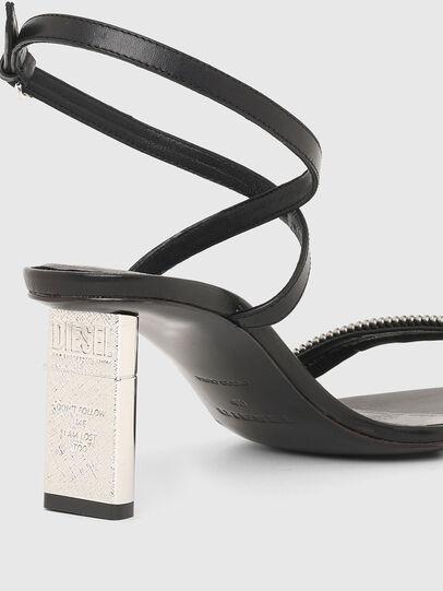 Diesel - SA-LEZIPPO, Black - Sandals - Image 4