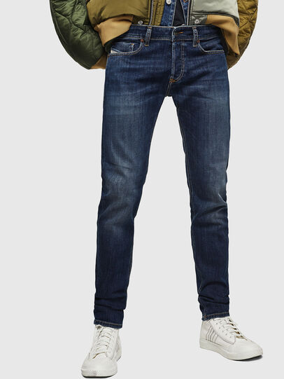 Diesel - Sleenker 083AV, Dark Blue - Jeans - Image 1