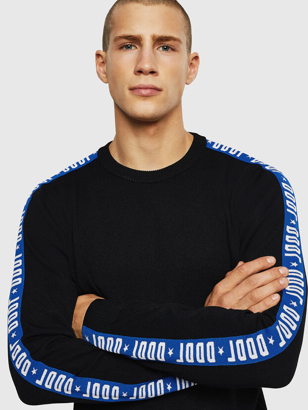 K-TRACKY-B, Black/Blue - Knitwear