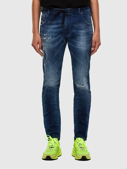 Diesel - KRAILEY JoggJeans® 069PL, Dark Blue - Jeans - Image 1
