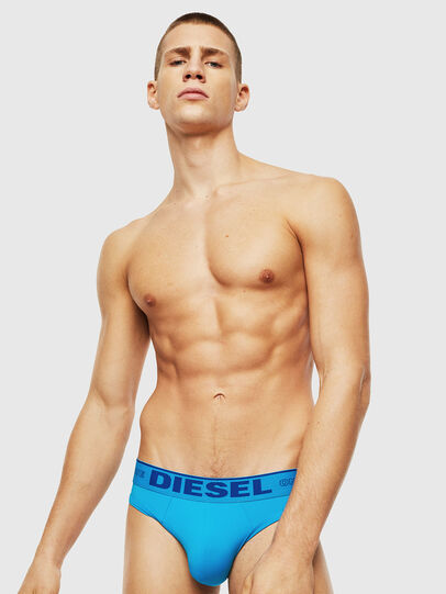 Diesel - 55-DBRIEF, Azure - Briefs - Image 1