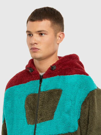 Diesel - S-ALDY, Olive Green - Sweaters - Image 5