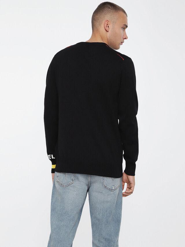 Diesel - K-TOP, Black - Knitwear - Image 2