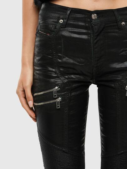 Diesel - D-Ollies JoggJeans® 069QQ, Black/Dark grey - Jeans - Image 5