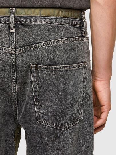 Diesel - DxD-P2 0CBBH, Black/Dark grey - Jeans - Image 4