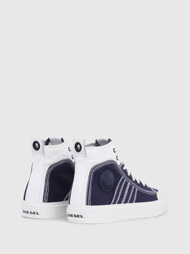 Diesel - S-ASTICO MID LACE W, Blue/White - Sneakers - Image 3