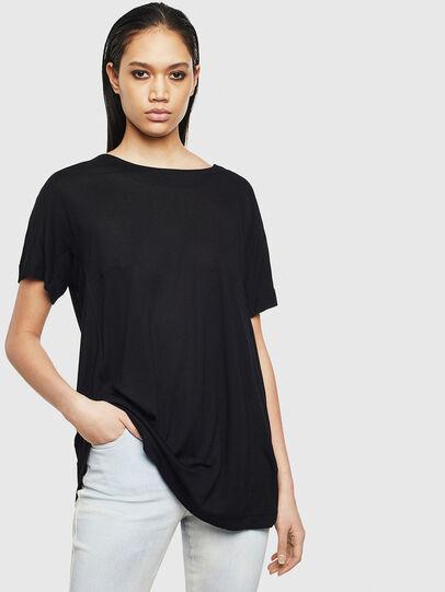 Diesel - T-TOKY-S2, Black - T-Shirts - Image 1