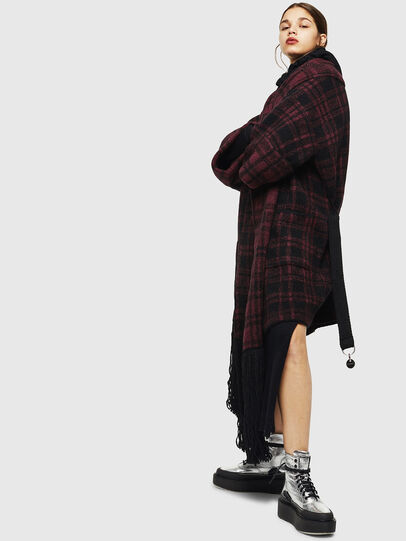 Diesel - M-BOU, Dark Violet - Winter Jackets - Image 5