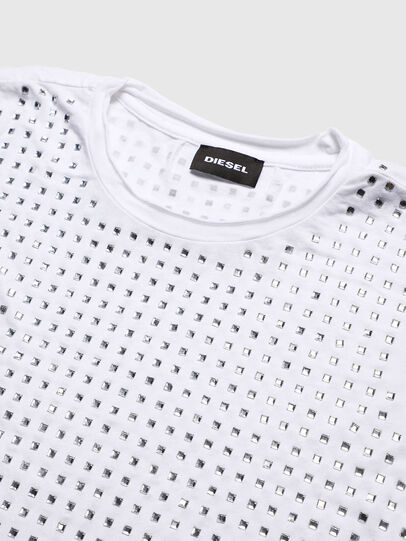 Diesel - TJRATY, White - T-shirts and Tops - Image 3