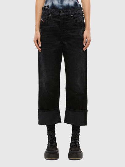 Diesel - D-Reggy 009LC, Black/Dark grey - Jeans - Image 1