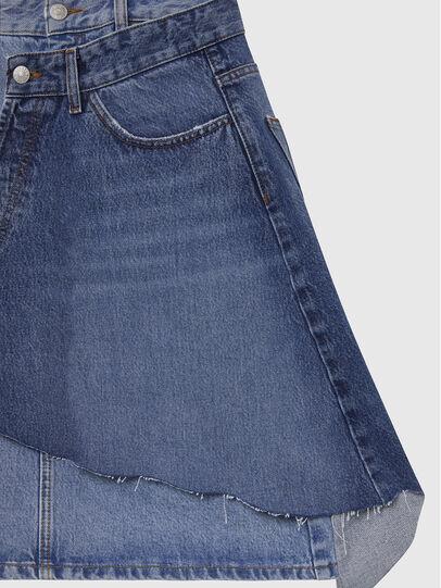 Diesel - DE-TOBY, Light Blue - Skirts - Image 4