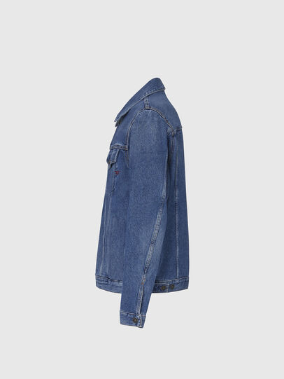 Diesel - D-SAL, Light Blue - Denim Jackets - Image 3