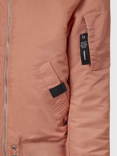 Diesel - J-ROSS-REV, Pink - Jackets - Image 6