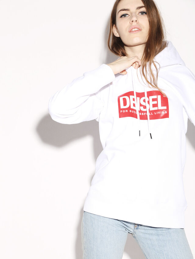 Diesel - DEIS-SHOOD, White - Sweaters - Image 8
