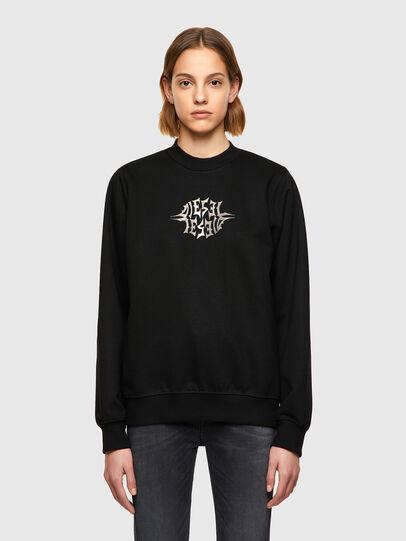 Diesel - F-ANG-K17, Black - Sweaters - Image 1