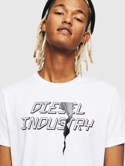 Diesel - T-DIEGO-J25, White - T-Shirts - Image 3
