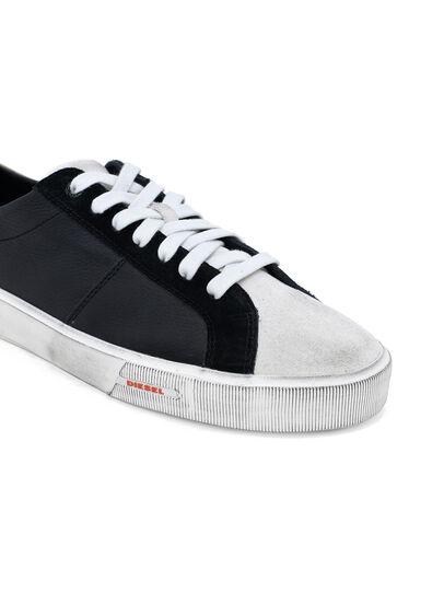 Diesel - S-MYDORI LC, Black/Beige - Sneakers - Image 5