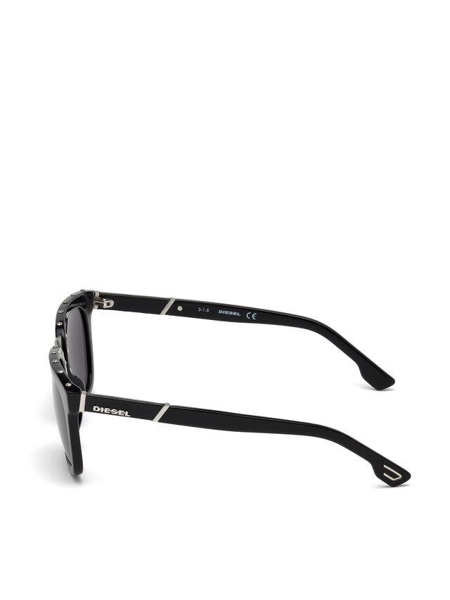 Diesel DL0212, Black - Eyewear - Image 3