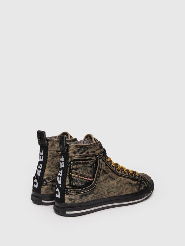Diesel - EXPOSURE STRIPE, Yellow - Sneakers - Image 2