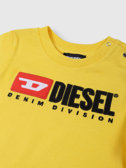 Diesel - TJUSTDIVISIONB, Yellow - T-shirts and Tops - Image 3