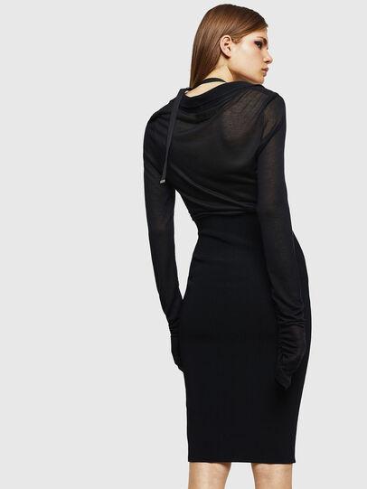 Diesel - D-LYB, Black - Dresses - Image 2