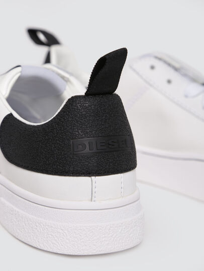 Diesel - S-CLEVER LOW W, White/Black - Sneakers - Image 4