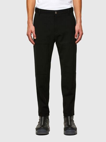 Diesel - P-KOLTY, Black - Pants - Image 1