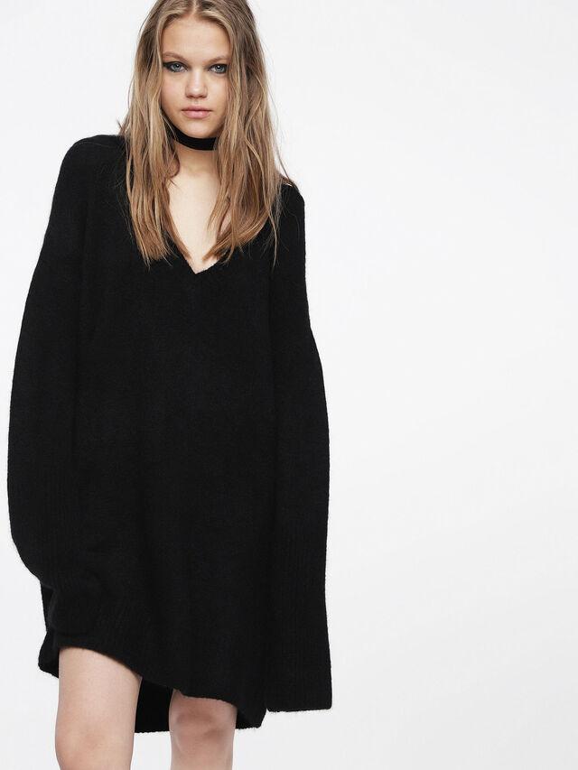 Diesel - M-SOFTY, Black - Dresses - Image 1