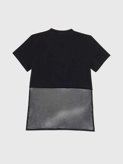 Diesel - BFOWT-BLOKY-P, Black - T-Shirts - Image 2
