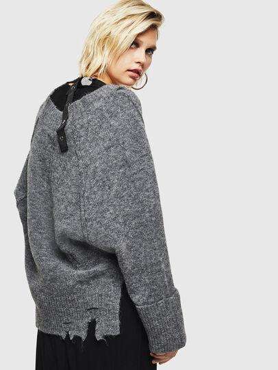 Diesel - M-MARIKAX, Grey - Knitwear - Image 2